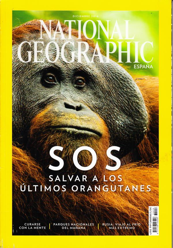 Revista national Geographic SOS Salvar a los
