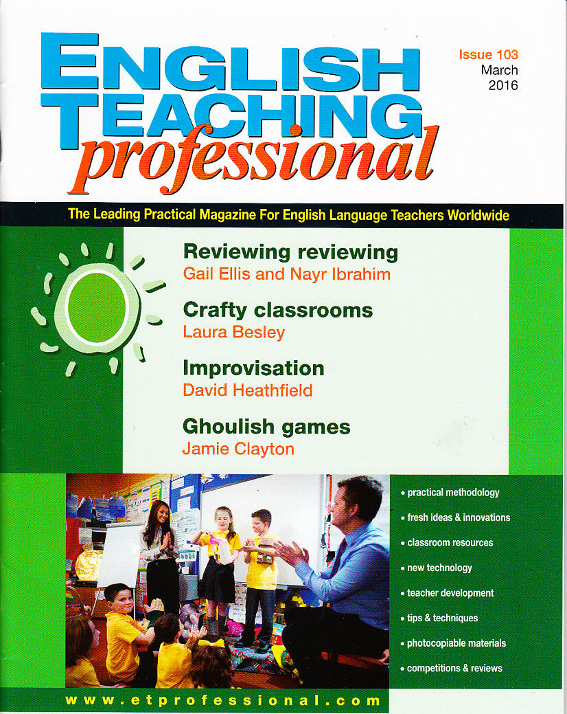 English Teaching Professional March 2016