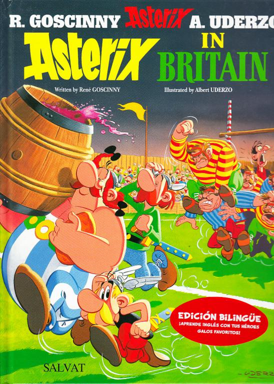 GoscinnyR Uderzo Asterix in Britain