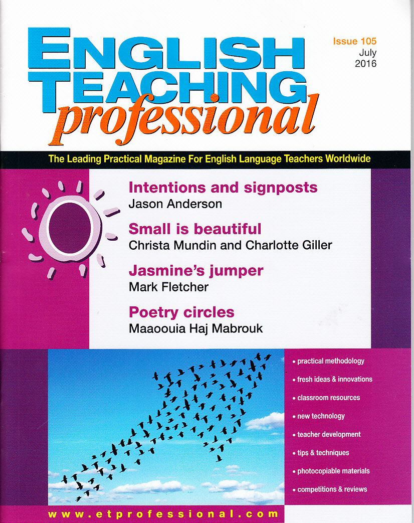 Revista English Teaching Professional 105
