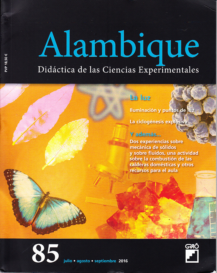 Revista Alambique La luz