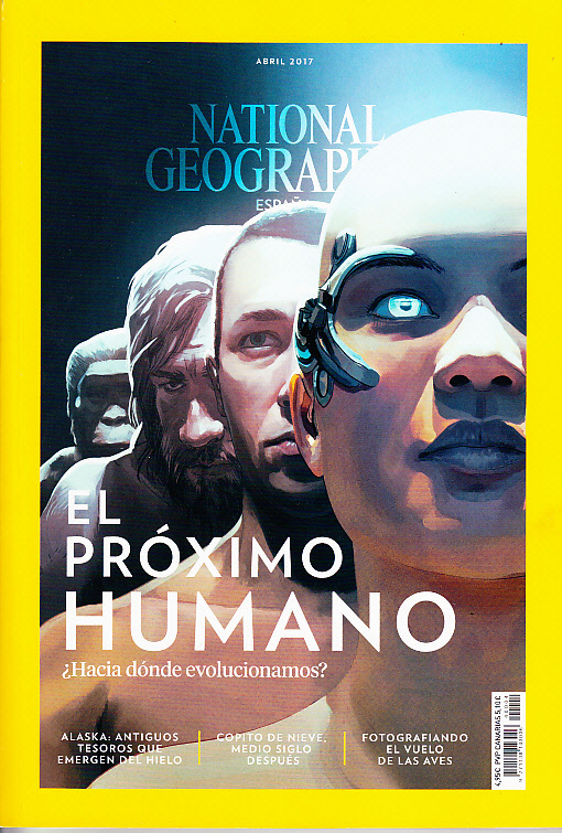 Revista National Geographic El próximo humano
