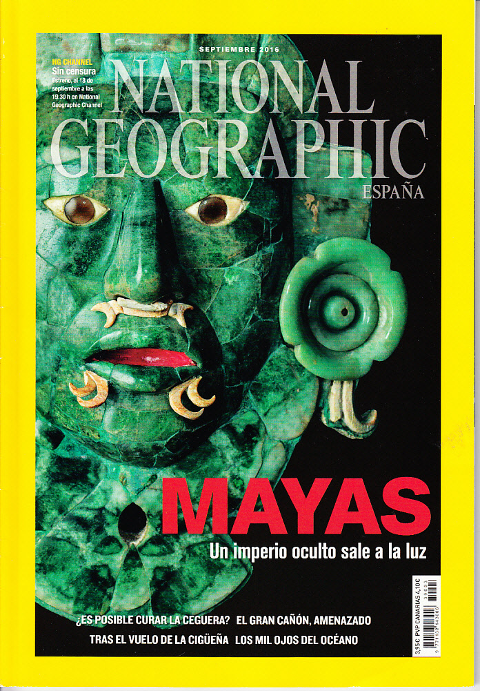 Revista National Geographic Mayas